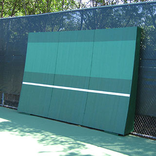 tennis backboards