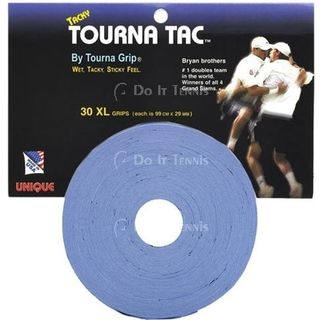 Unique Tourna Tac XL 30 Pack Blue Overgrip