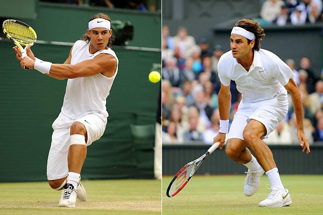 Rafael Nadal vs. Roger Federer, Wimbledon Final 2008