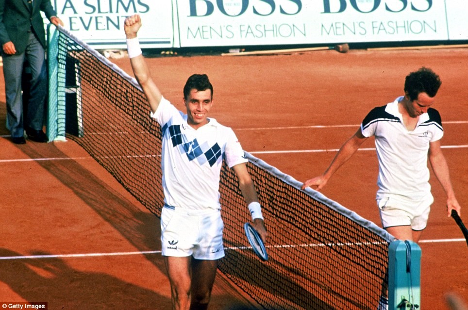 Ivan Lendl vs. John McEnroe, 1984 French Open