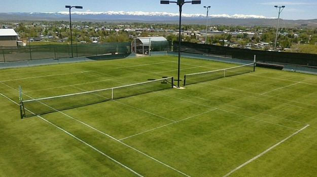 Wimble-don Grass Courts