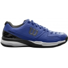 Wilson Men's Rush Composite Tennis Shoes (Mazarine Blue/Black/White) - New Tennis Shoes