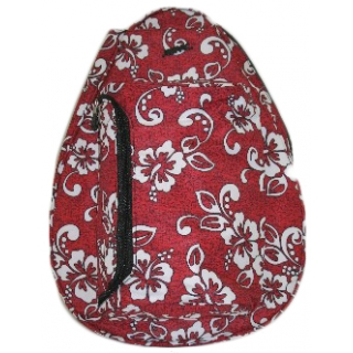 Jet Red Hawaiian Knockoff Backpack