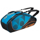 Yonex Tournament Active 6-Pack Racquet Bag (Turquoise) - New Yonex Racquets, Bags, Shoes