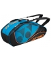 Yonex Tournament Active 6-Pack Racquet Bag (Turquoise) - 6 Racquet Tennis Bags