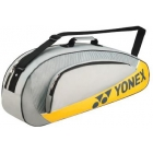 Yonex Club 3 Pack Racquet Bag (Gray) - 3 Racquet Tennis Bags