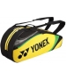Yonex Tournament Basic 6-Pack Racquet Bag (Yellow) - 6 Racquet Tennis Bags