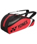 Yonex Tournament Basic 6-Pack Racquet Bag (Red/Black) - 6 Racquet Tennis Bags