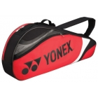 Yonex Tournament Basic 3-Pack Racquet Bag (Red/Black) - Yonex Tournament Basic Tennis Bags
