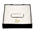 40 Love Courture White Quilt Violet Tote - 40 Love Courture Tennis Bags