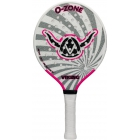 Viking O-Zone Platform Tennis Paddle (Grey/ Pink) - Other Racquet Sports