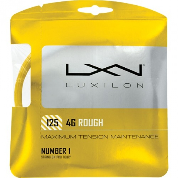 Luxilon 4G 125 Rough 16L Tennis String (Set)