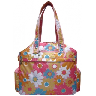 Jet Daisy Grace Tennis Tote Bag