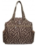 Jet Brown Giraffe Tennis Tote Bag - Jet Bags