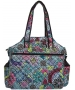 Jet Thai Spices Quilted Tennis Tote Bag - New Womens Bags