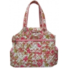 Jet Versailles Quilted Tennis Tote Bag - Jet Tennis Bags