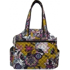 Jet Fantasy Quilted Tennis Tote Bag - Jet  Tennis Bags