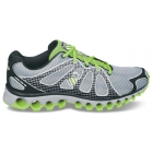 K-Swiss Men's Tubes Run 130 (Gry/ Blk/ Grn) - Running Shoes