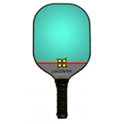 Paddletek Pro Phoenix Paddle (Turquoise) - Tennis Court Equipment