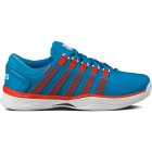 K-Swiss Men's Hypercourt Tennis Shoes (Red/  Blue) - Men's Tennis Shoes