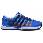 K-Swiss Men's Hypercourt Tennis Shoes (Electric Blue/Graphic Print) - K-Swiss