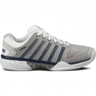 K-Swiss Men's Hypercourt Express Tennis Shoes (Gray/ White/ Navy) - Men's Tennis Shoes
