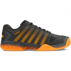 K-Swiss Men's Hypercourt Express Tennis Shoes (Dark Shadow/Blazing Orange) - K-Swiss