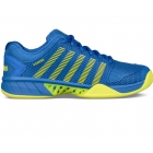 K-Swiss Men's Hypercourt Express Tennis Shoes (Blue/Citron) - New Tennis Shoes