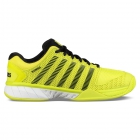 K-Swiss Men's Hypercourt Express Tennis Shoes (Neon Yellow/Black/White) - Labor Day Sale! Discount Prices on Men's Tennis Shoes