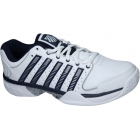 K-Swiss Men's Hypercourt Express Leather Tennis Shoes (White/ Navy) - K-Swiss Tennis Shoes