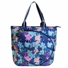 All For Color Midnight Blooms Tennis Tote - All for Color Tennis Bags