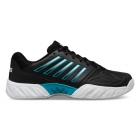 K-Swiss Men's Bigshot Light 3 Tennis Shoes (Black/White/Algiers Blue) - Shop the Best Selection of Tennis Shoes for Any Court Surface