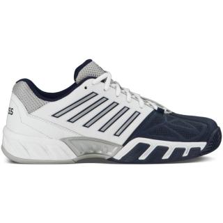 K-Swiss Men's Bigshot Light 3 Tennis Shoes (White/Navy)