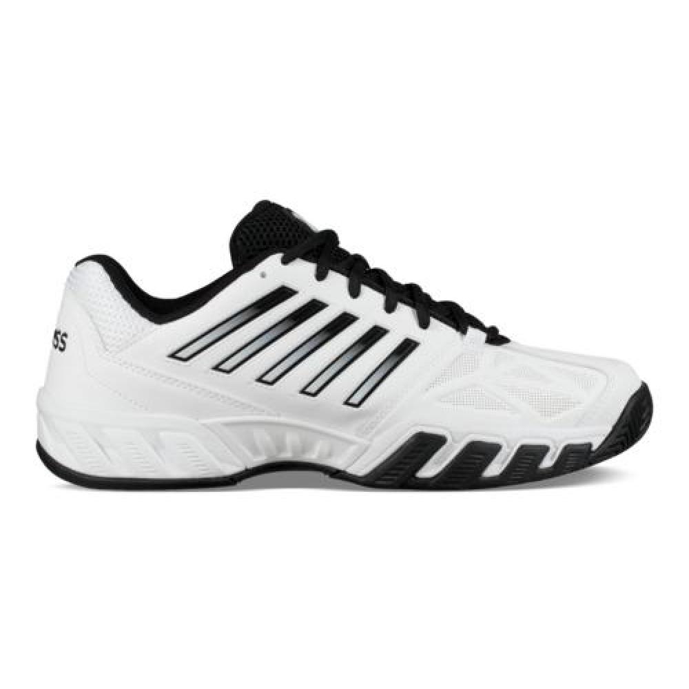K-Swiss Men's Bigshot Light 3 Tennis Shoes (White/Black)