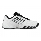 K-Swiss Men's Bigshot Light 3 Tennis Shoes (White/Black) - K-Swiss Bigshot Tennis Shoes