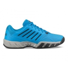 K-Swiss Men's Bigshot Light 3 Tennis Shoes (Malibu Blue/Magnet/Highrise) - Men's Tennis Shoes