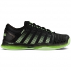 K-Swiss Men's Hypercourt 2.0 Tennis Shoes (Black/Green) - Tennis Shoe Brands