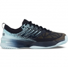 K-Swiss Men's Knitshot Tennis Shoes (Black Iris/Blue Glow) - Tennis Shoe Brands