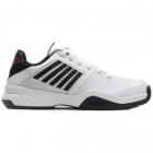 K-Swiss Men's Court Express Tennis Shoes (Black/White/Poppy Red) -