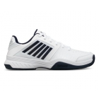 K-Swiss Men's Court Express Sneaker (White/Navy) - Performance Tennis Shoes