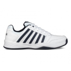 K-Swiss Men's Court Smash Tennis Shoes (White/Navy) - Tennis Shoes