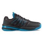 K-Swiss Men's UltraShot Tennis Shoes (Magnet/Malibu Blue) - K-Swiss UltraShot Tennis Court Shoes