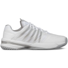 K-Swiss Men's UltraShot Tennis Shoes (White/High Rise) - K-Swiss UltraShot Tennis Court Shoes