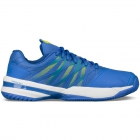 K-Swiss Men's UltraShot Tennis Shoes (Blue/Citron) - K-Swiss UltraShot Tennis Court Shoes