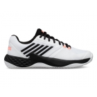 K-Swiss Men's Aero Court Tennis Shoes (White/Black/Soft Neon Orange) - Shop the Best Selection of Tennis Shoes for Any Court Surface