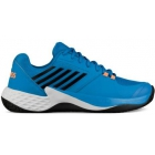K-Swiss Men's Aero Court Tennis Shoes (Brilliant Blue/Neon Orange) - K-Swiss Aero Court Tennis Shoes