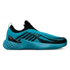 K-Swiss Men's Aero Knit Tennis Shoes (Algiers Blue/Black/Soft Neon Orange) - Shop the Best Selection of Tennis Shoes for Any Court Surface