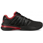 K-Swiss Men's UltraShot 2 Tennis Shoes (Black/Lollipop) - Clearance Sale! Discount Prices on Men's Tennis Shoes