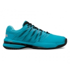 K-Swiss Men's UltraShot 2 Tennis Shoes (Algiers Blue/Black/Soft Neon Orange) - K-Swiss Tennis Shoes