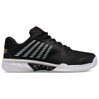 K-Swiss Men's Hypercourt Express 2 Tennis Shoes, Black/Gold/White -